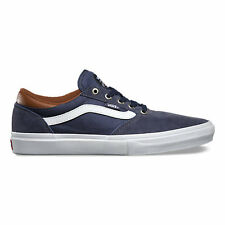 VANS GILBERT CROCKETT PRO NAVY WHITE LEATHER MENS CASUAL SKATE SHOES SKATEBOARD