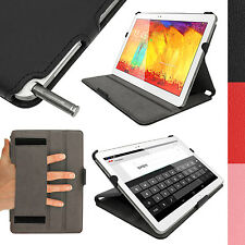 PU Leather Case Cover for Samsung Galaxy Note 10.1 2014 Edition & Tab Pro 10.1
