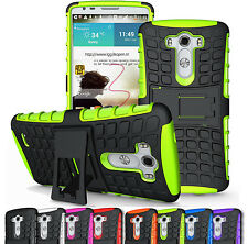 For LG G3 D850 D855 LS990 Rugged Armor Heavy Duty Hybrid Impact Stand Case Cover
