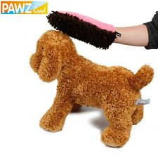Pet Dog Dry Microfiber Glove Drying Supplies Pet Dog Bath Towel Water-Absorbent