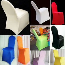 New Hot Polyester Folding Banquet Universal Chair Covers Wedding BB