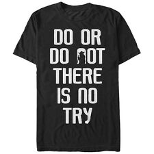 Star Wars Jedi Master Yoda Do or Do Not Mens Graphic T Shirt