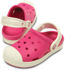 KIDS CROCS  BUMP IT CLOG PINK/OYSTER