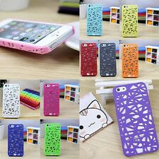 Fashional Thin Birds Nest Woven Plastic Cover Case For Iphone 5 5S