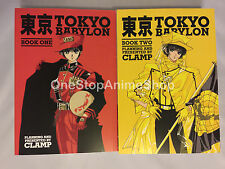 NEW Tokyo Babylon Omnibus Volume 1-2 by Clamp Paperback Book (English) new hot