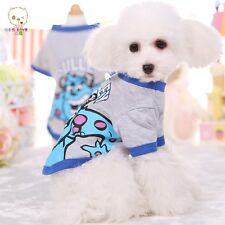 Pet Dog Summer Clothes Animated Character Style T-shirt Lovely Puppy Apparel
