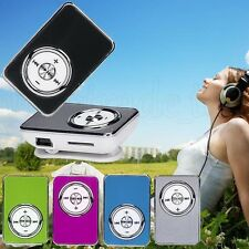 NEW Mini Mirror USB Digital Mp3 Music Media Player Support 32GB Micro SD TF Card
