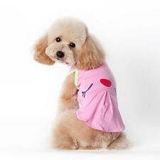 Fashion Small Pet Dog Cat Puppy Clothes Various Summer Vest T Shirt Apparel Hot