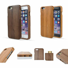 """Handmade Natural Wood Bamboo Wooden Hard Case Cover For iPhone 6/6S/Plus 5.5"""""""