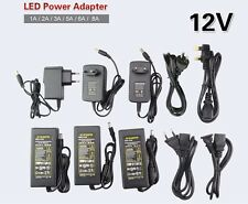 AC100-240V To DC 12V 2A 3A 5A 6A 8A 10A Adapter Power Supply For LED Light strip