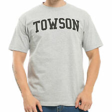 Towson University College School State Cotton Tee Sports T-Shirt WRA 500-153