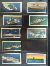 ☆ Kellogg  - Ships of the British Navy 1962 (G) ***Pick the Cards You Need***