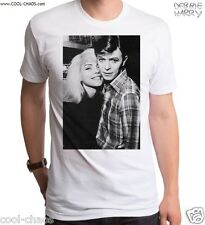 Blondie & David Bowie T-Shirt / Retro Black & White Photo-Official Debbie Harry