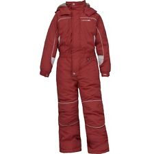 New Trespass unisex childrens ski snow winter suit thermal age 3/4 and 5/6