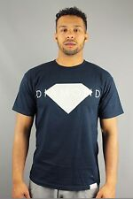Diamond Supply CO Diamond Solid Mens Crew Neck Short Sleeve T Shirt Navy Blue
