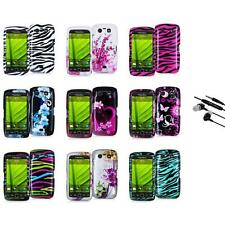Design Hard Case Cover Accessory+Earphone Mic for Blackberry Torch 9850 9860