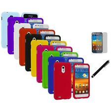 Hard Cover Case+LCD Film+Stylus for Samsung Sprint Galaxy S II S2 Epic Touch