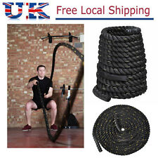 38/50mm Battle Power Rope Battling Sport Exercise Fitness Bootcamp Training Gym