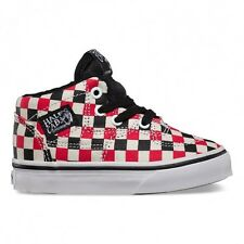VANS TODDLER HALF CAB CHECKERS MULTI NEW AUSTRALIA SKATEBOARD CLEARANCE