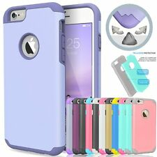 Hybrid Shockproof Rubber Hard Plastic PC Cover Case Skin for Apple iPhone5&5s SE
