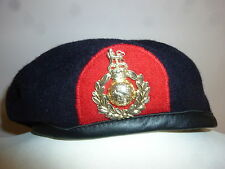 ROYAL MARINES TRAINING BERET WITH BADGE VARIOUS SIZES BRITISH ARMY ISSUE