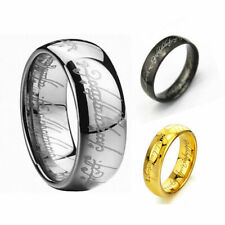 Lord of the Rings The One Ring Lotr Titanium Steel Fashion Men's Ring Size 6-15