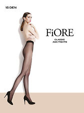 New Fiore Ada Classic Sheer Tights 15 Den - New design & Packaging