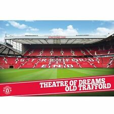 Manchester United FC Poster Stadium 97 Football Soccer EPL Wall Picture