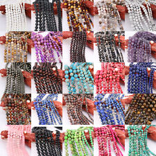 1 Bunch 33/38/48/64/96Pcs Stone Beads Gemstone Loose Spacer Beads 4/6/8/10/12mm