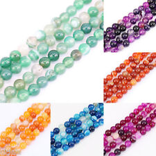 1Bunch Lots Beads Craft Smooth Natural Gemstone Loose Spacer Bead 4/6/8/10/12mm