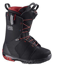 SALOMON DIALOGUE WIDE BLACK BLK RED MENS NEW SNOWBOARD BOOTS SNOW 2016 AUSTRALIA