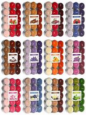 Scented Tea Lights 30 Pack, 11 scents to choose from, 4-5 hours burning time!!!