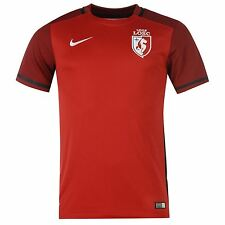 Nike Lille Home Jersey 2015 2016 Mens Red Ligue 1 Football Soccer