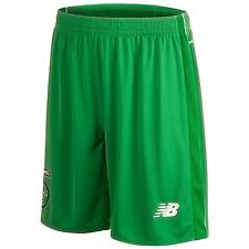 New Balance Celtic FC Away Shorts 2015 2016 Mens Green SPL Football Soccer