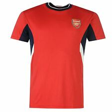 Arsenal FC Polyester T-Shirt Infants Red EPL Top Tee Shirt Football Soccer