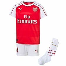 Puma Arsenal FC Home Kit 2015 2016 Baby Red/White EPL Football Soccer