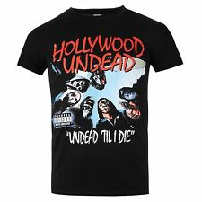 Hollywood Undead Undead Til I Die T-Shirt Mens Black Music Top Tee T Shirt