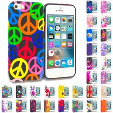 For Apple iPhone 5 5S SE Design TPU Soft Rubber Skin Case Cover Accessories