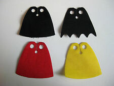 Custom Minifigure Cloth CAPE for Lego figures Star Wars  -Pick your Color!