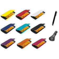 For LG Google Nexus 4 E960 Wallet Magnetic Leather Front Case Cover+Charger+Pen