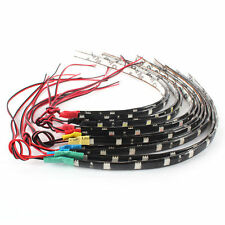 2x 12V 12-LED 30CM White 5050 SMD Waterproof Car Motor Flexible Light Strip Bar