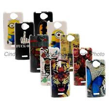 For HTC One X S720e G23 Buterfly Rose Tiger Tower Batman Owl Hard PC Cover Case