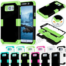 Shockproof Soft Silicone Hybrid Combo Armor Case For Samsung Galaxy Note 5 & S7