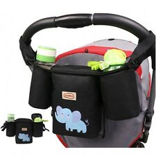 Universal Baby Infant Stroller Organizer Storage Shoulder Bag Baby Diaper Bags