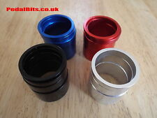 """CNC Machined Superlight Alloy 1 1/8"""" 5mm & 10mm Bike Bicycle Headset Spacers"""
