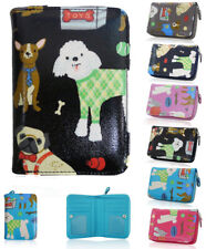 Fashion Ladies Girls Dogs Zip Small Coin Purse Womens Wallet Card Holder New