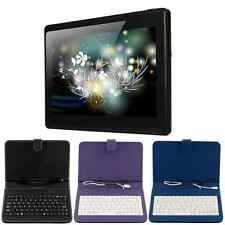 "7"" A33 Google Android 4.4 Quad Core Dual Camera 8GB Tablet PC &Case Keyboard"
