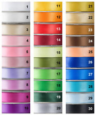 Satin Ribbon, DOUBLE SIDED, 30 Yard-Role, 25mm wide