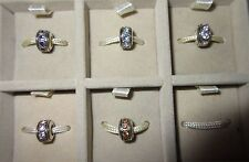 AUTHENTIC CHAMILIA 925 STERLING SILVER BIRTHSTONE WHEEL CZ YOU CHOOSE MONTH NEW