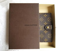 AUTHENTIC BEAUTIFUL LOUIS VUITTON AGENDA PM DAY PLANNER COVER LV YOU CAN CHOOSE